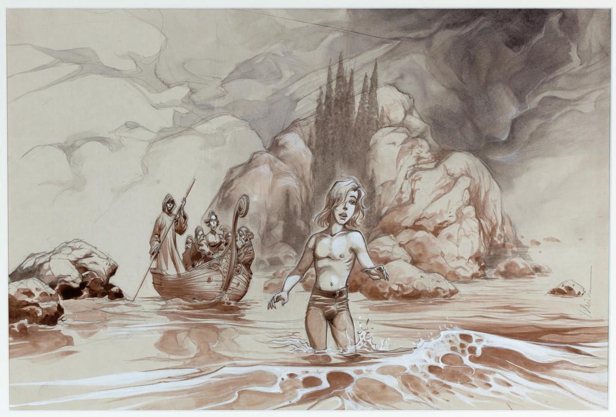 Yslaire > L'Ile des Morts