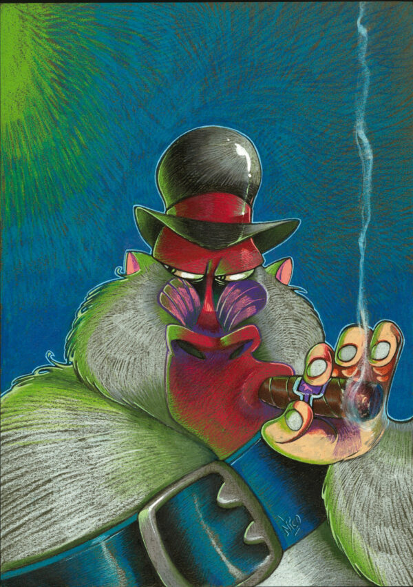 Keramidas > Alice au Pays des singes, Ex-libris TT, tome 1