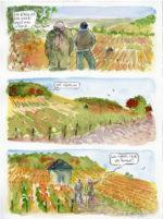 Bernard > A l'ombre des jeunes vignes