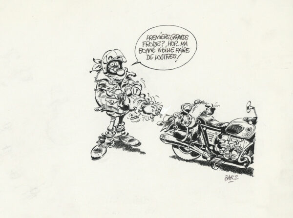 "Bar2 > Joe Bar team, illustration 5, encyclo ""loutres"""
