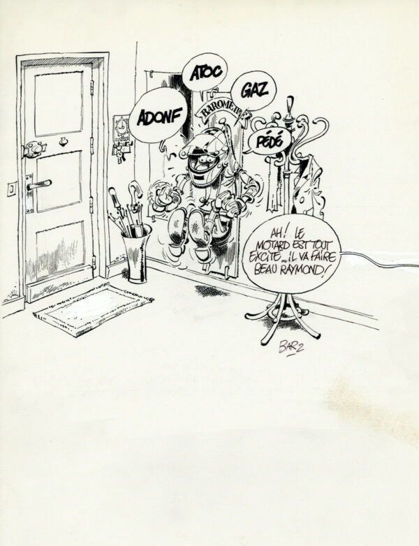 "Bar2 > Joe Bar team, illustration 8, encyclo ""baromètre"""