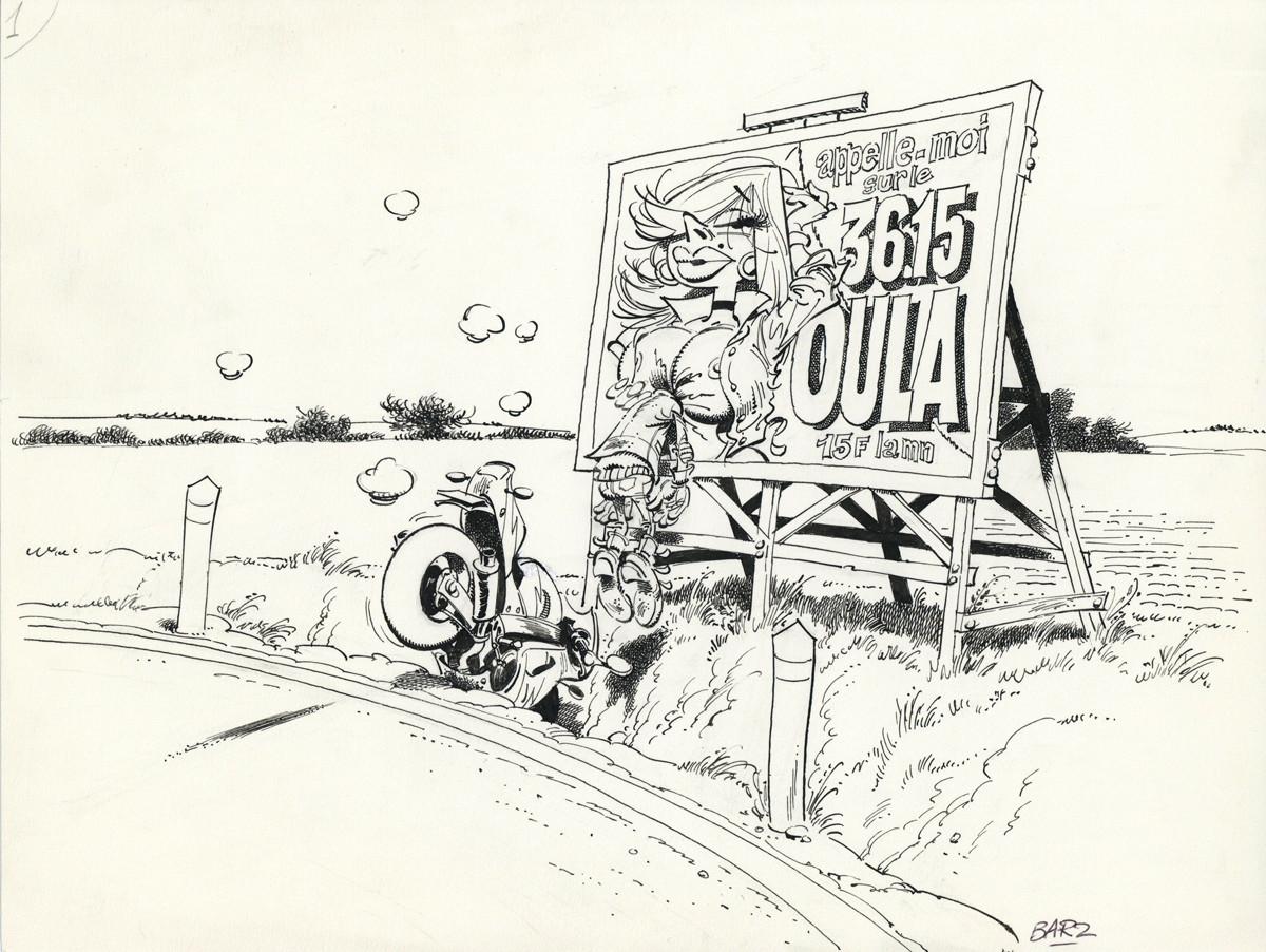 "Bar2 > Joe Bar team, illustration 24, encyclo ""3615 oula"""