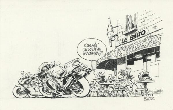 "Bar2 > Joe Bar Team, illustration 2, encyclo ""macumba"""