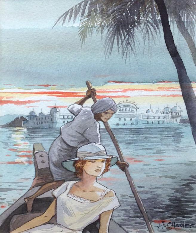 Charles > Amélia sur le lac