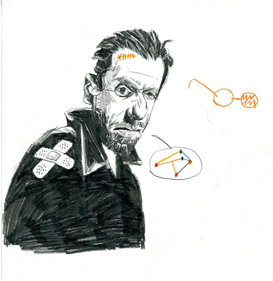Martoz > Homme au pansement