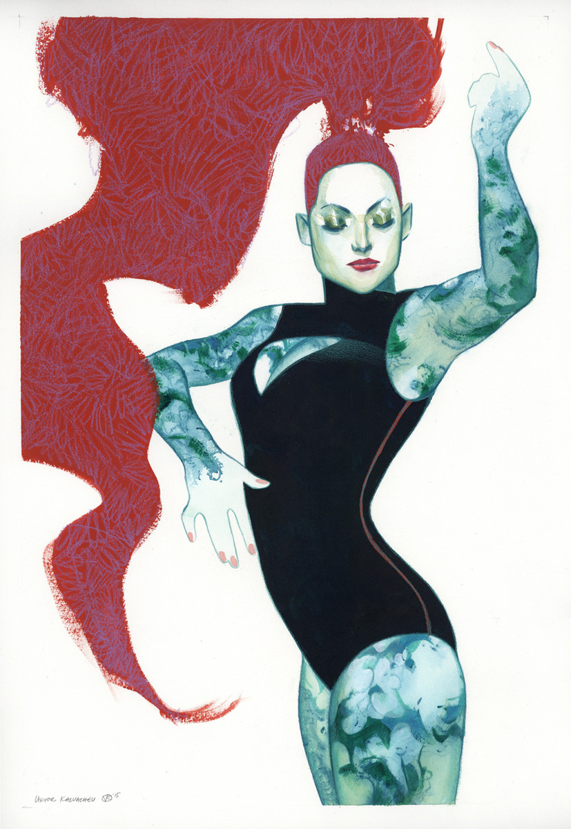 Kalvachev > Femme Rouge 1