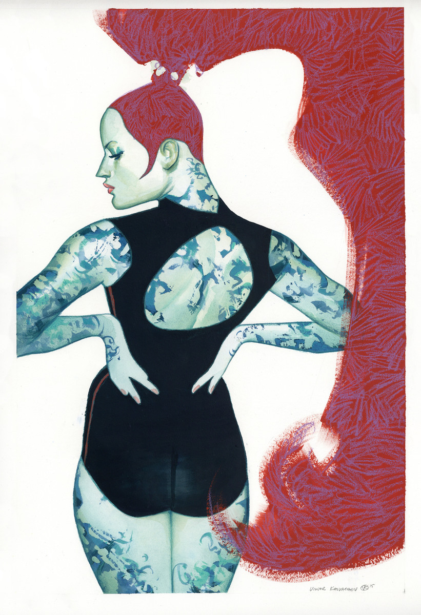 Kalvachev > Femme Rouge 2