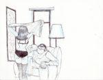 Féroumont > Scène au fauteuil