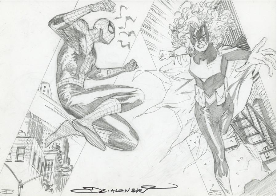 Dzialowski > Spiderman et Batwoman