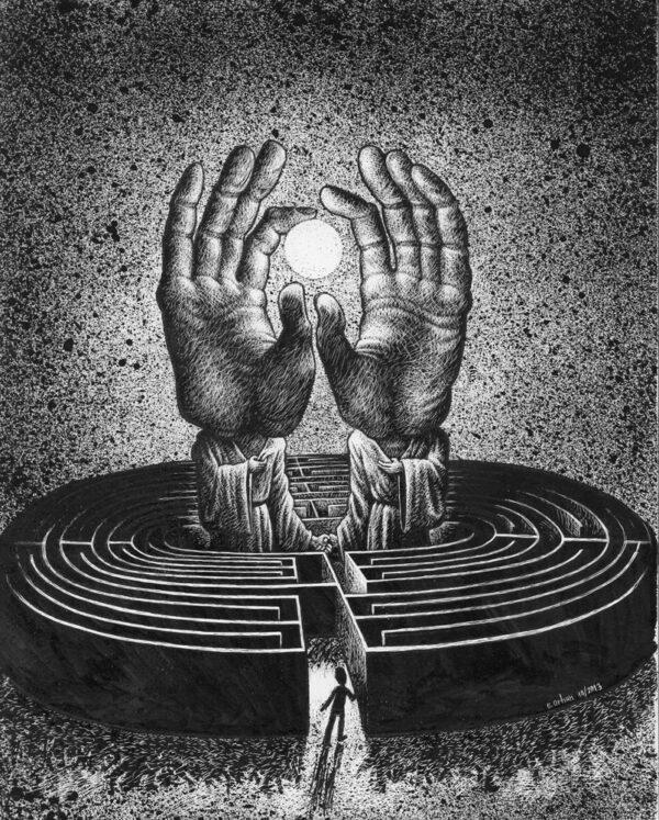 Orhun > Labyrinthe