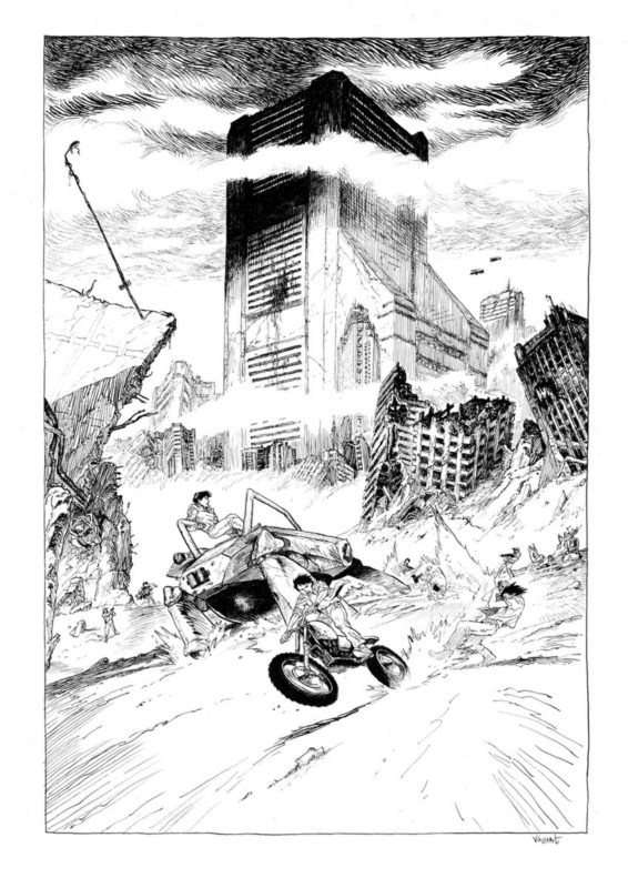 Perriot > Tribute to Otomo par Perriot