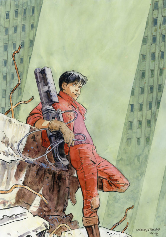 Rouge > Tribute to Otomo par Corentin Rouge