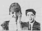 Nanni > Le couple (encre sur calque)