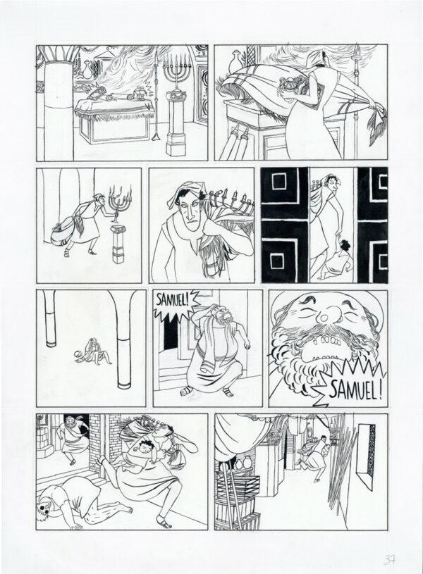 Mattiussi > La Lionne, Tome 01, planche 37