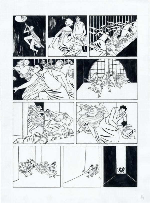 Mattiussi > La Lionne, Tome 01, planche 44