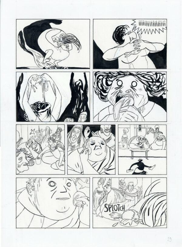 Mattiussi > La Lionne, Tome 02, planche 29
