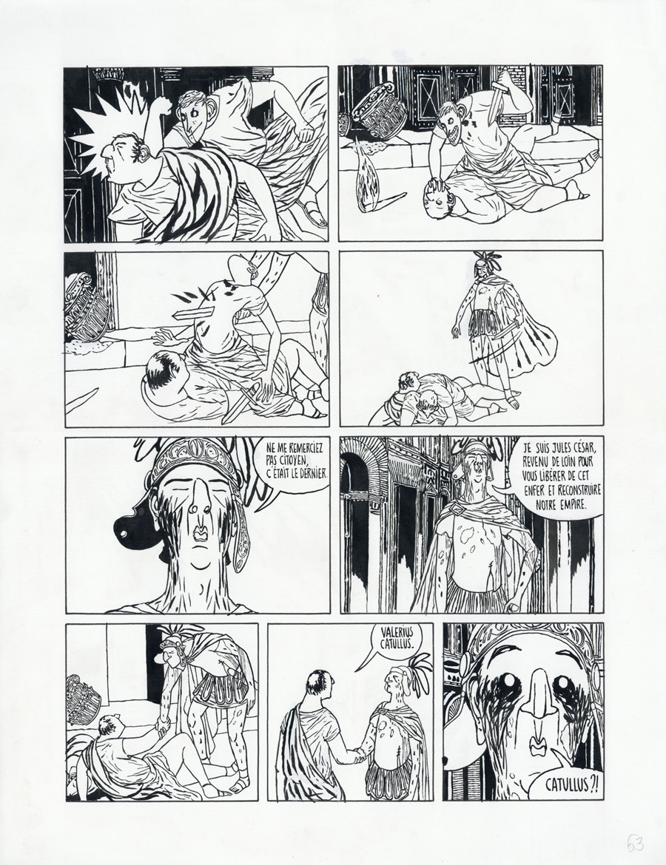 Mattiussi > La Lionne, Tome 02, planche 63