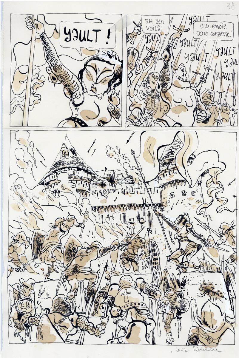 Sécheresse > Heavy Metal, tome 1, planche n° 38