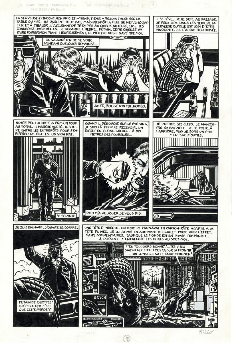 Mezzo > Le roi des mouches, t.1, page 55