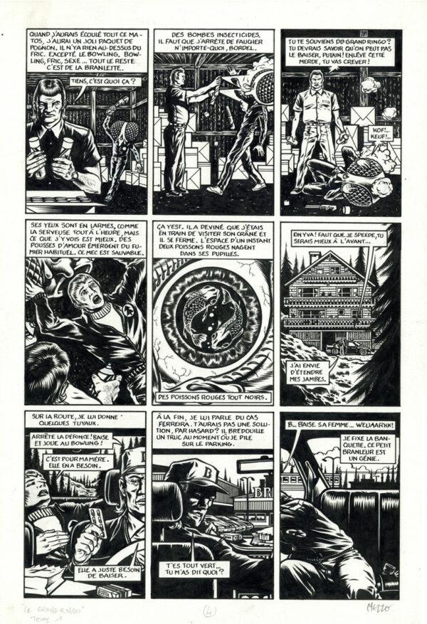 Mezzo > Le roi des mouches, t.1, page 56