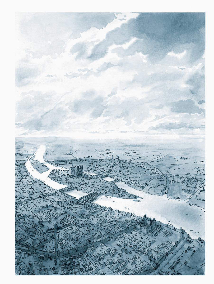 Critone > Je, François Villon, Tome 2, planche 1