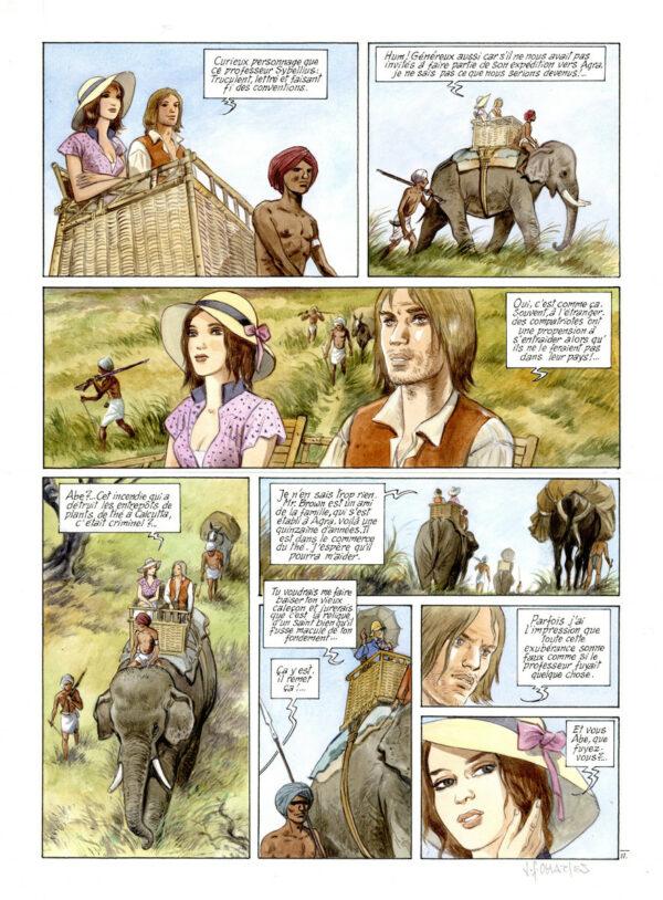 Charles > India Dreams, T.8, pl. 11