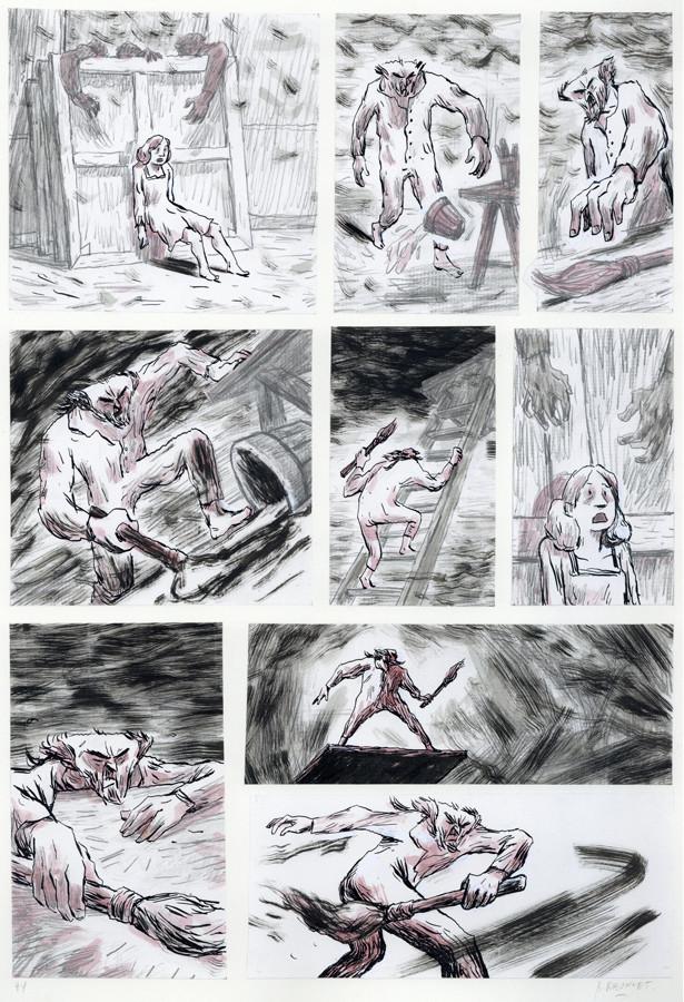 Bozonnet > Goya, planche 44