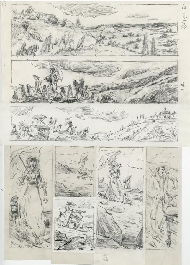 Bozonnet > Goya, crayonné, pl. 10
