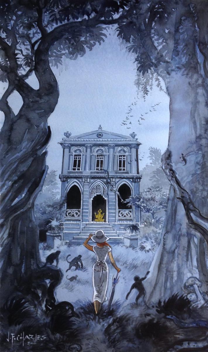 Charles > Le jardin des singes