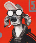 LOIS-toile-RedDog-46x38_1300€