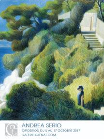 affiche ANDREA-SERIO galerie Glenat