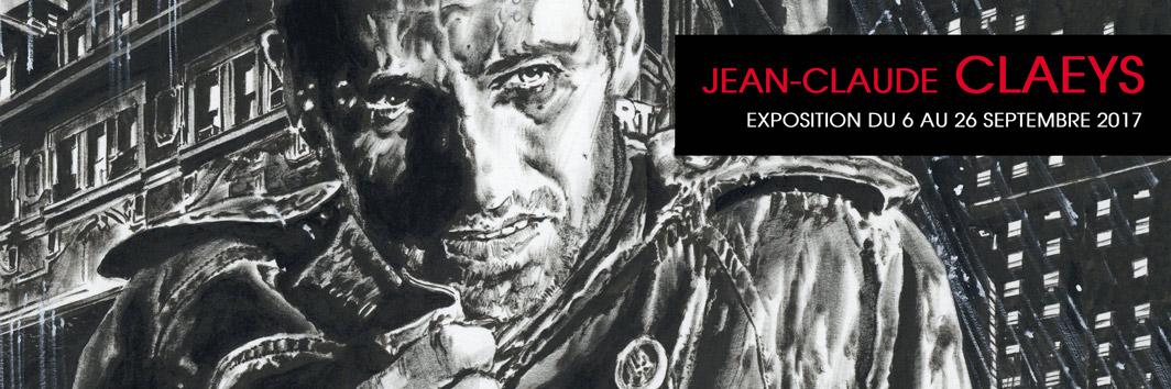 Jean-Claude CLAEYS galerie Glenat