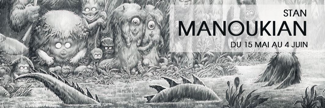 Glenat exposition Manoukian 2019