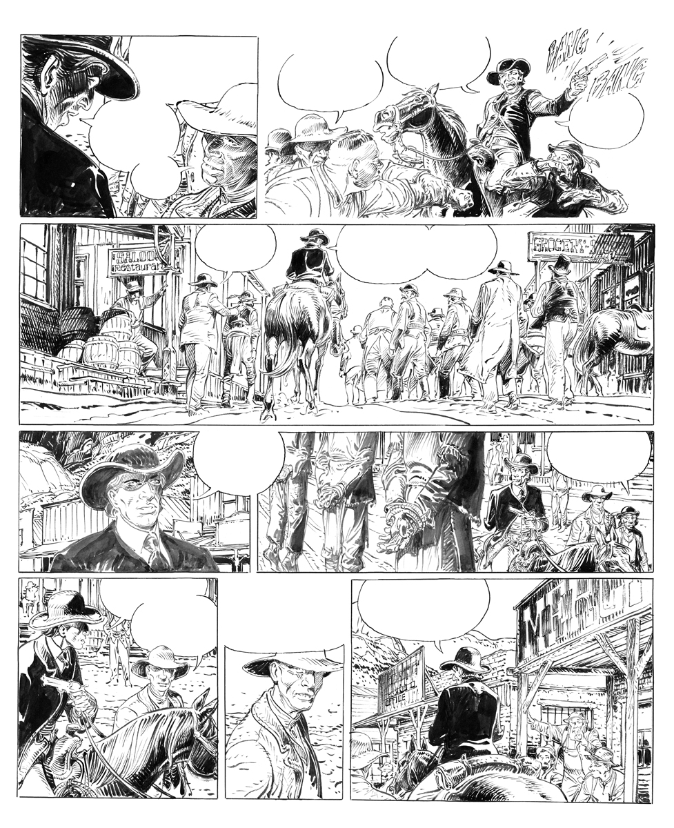 François Boucq Original Art For Sale Comicarttracker